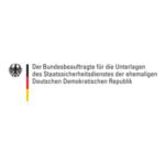 Logo Der Bundesbeauftragte für die Unterlagen des Staatssicherheitsdienstes der ehemaligen Deutschen Demokratischen Republik