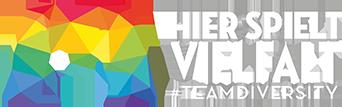 Logo der Kampagne Hier spielt Vielfalt