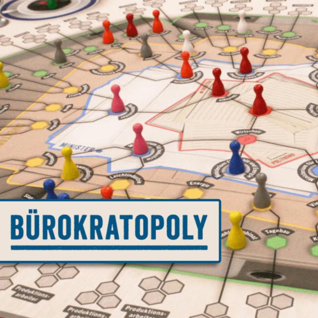Bürokratopoly Portfolio Cover-Bild